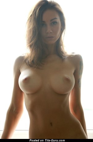 Image. Nude awesome girl with medium boob pic