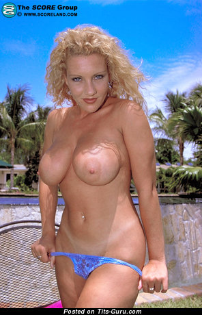 Alyson Mckenzie - Splendid British Blonde Babe with Splendid Bald Medium Sized Melons (Hd Sexual Pix)