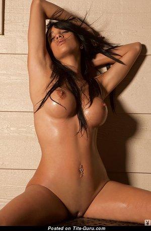 Image. Awesome female with medium fake tittys photo