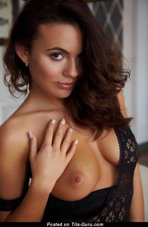 Vanessa Decker - Cute Czech Dame with Cute Open C Size Titties (Hd Sexual Wallpaper)