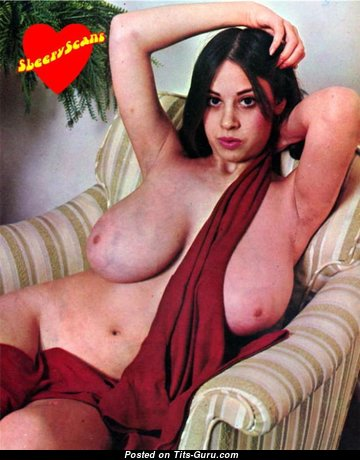 Arlene Bell - Pretty American Red Hair Babe with Pretty Naked Real Ddd Size Chest (Vintage Xxx Pix)