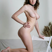 Amazing female with natural breast pic