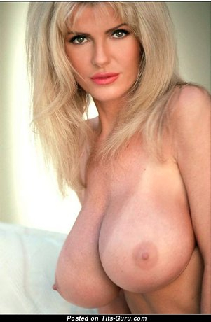 Julianna Young - Dazzling American Playboy Girl with Dazzling Defenseless G Size Tittes (Sexual Image)