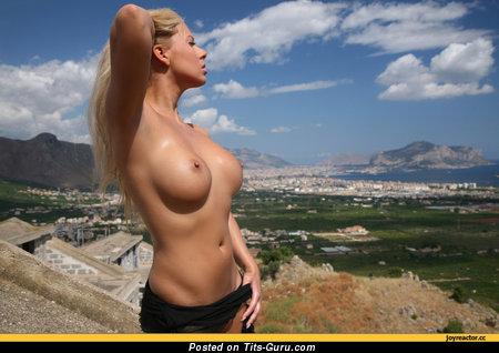 Image. Naked wonderful woman with big boobies photo
