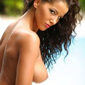 Angel Dark - hot girl with big natural tittes image