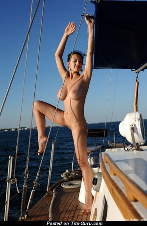 Sofi A - Alluring Ukrainian Doll with Elegant Exposed Real Medium Sized Tittys (Hd Porn Image)