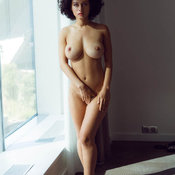 Hot girl with big natural boobs photo