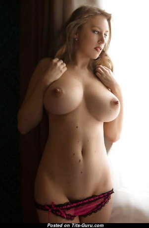 Unknown To Me - Yummy Naked Blonde Babe (Sexual Image)