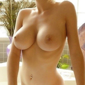 Dazzling Topless & Glamour Blonde with Dazzling Bald D Size Titty & Puffy Nipples (Hd 18+ Photoshoot)