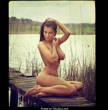 Image. Hot woman with big natural breast image