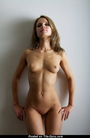 Image. Nude wonderful lady with natural tittys photo