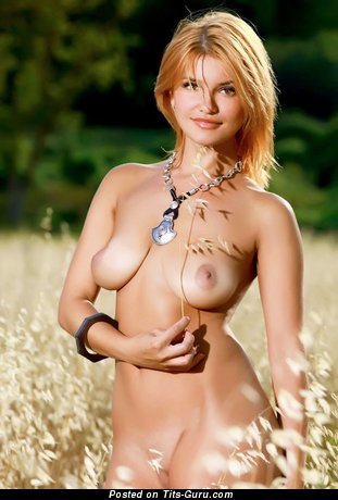 Image. Wonderful lady with natural breast photo