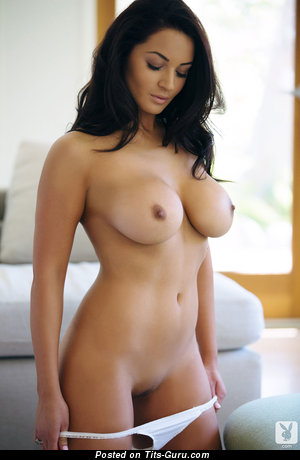 Image. Naked brunette with big tittys photo