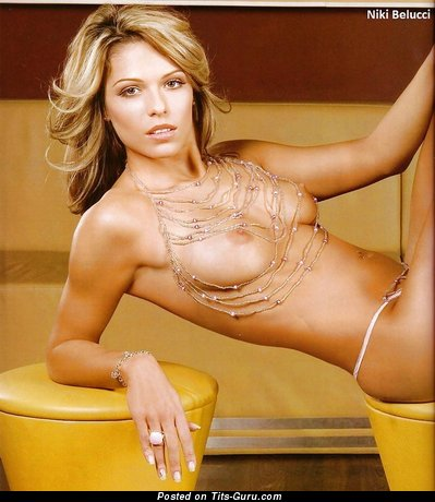 Niki Belucci - nude hot lady with natural breast image