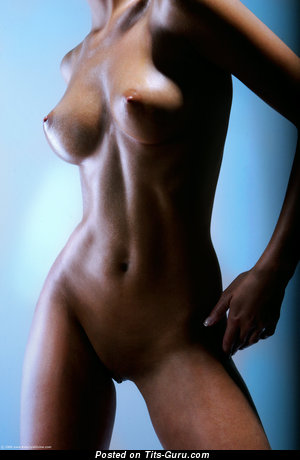 Superb Lady with Superb Nude Natural Breasts (Hd Sexual Photo)