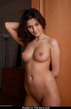 Olimpia - nude beautiful woman with medium natural breast photo