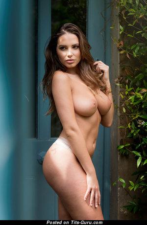 Sabine Jemeljanova - nude awesome girl with medium natural boobies pic