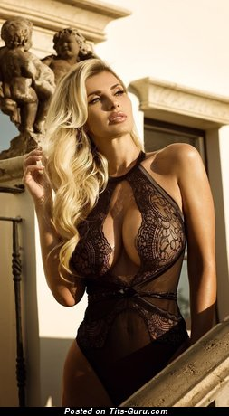 Leana Bartlett - Perfect Nude Blonde Babe in Lingerie (Hd Sexual Picture)