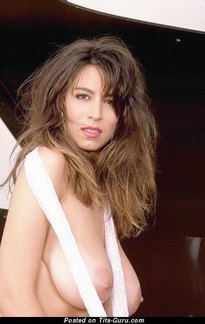 Christy Canyon - Beautiful Topless Armenian, American Red Hair Pornstar with Beautiful Nude Real Soft Tit & Huge Nipples (18+ Pic)