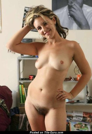 Sexy naked nice woman with small natural tits image