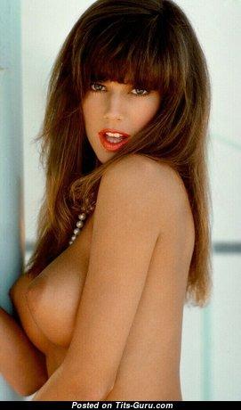 Kelly Jackson Aka Racheal Darrin - Lovely Topless Playboy Brunette Babe & Actress (18+ Photoshoot)