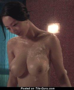 Daniella Wang - naked asian with big boobs gif