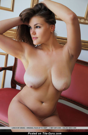 Image. Naked amazing woman with big natural breast image