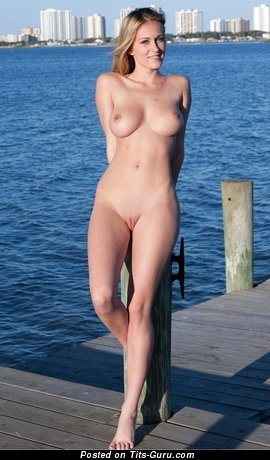 Image. Nice girl with natural tittes photo