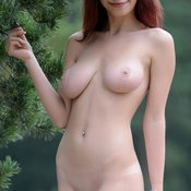 Ylika - amazing female with natural breast photo