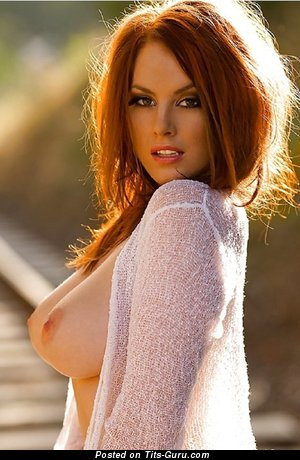 Image. Nude red hair with big boobies picture