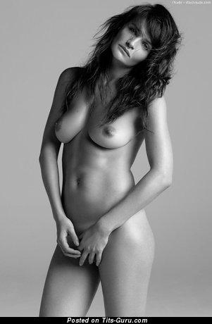 Helena Christensen - Graceful Danish Red Hair with Graceful Open Natural Medium Boobie (Hd Sexual Pix)