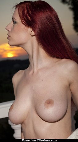 Ariel Piper Fawn - Elegant Czech Red Hair Babe & Pornstar with Elegant Defenseless Real Med Boobie & Red Nipples (Hd Sexual Pic)