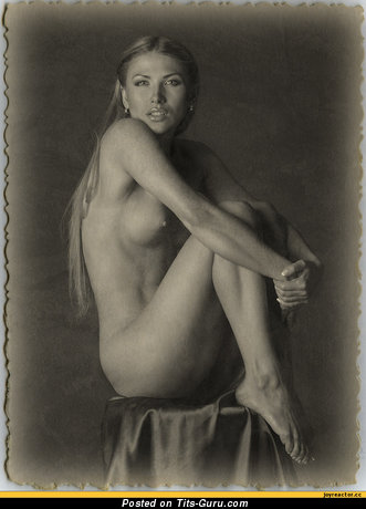 Image. Nice girl with medium boobies photo