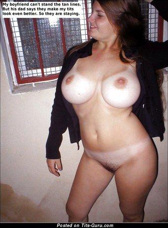 Girlfriend - naked wonderful female with big boobies image