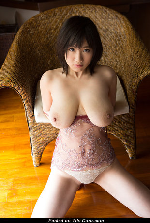 Изображение. Kaho Shibuya - фотка обалденной раздетой азиатки с большой натуральной грудью