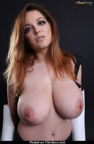 Tessa Fowler - Graceful Topless American Playboy Red Hair Girlfriend with Graceful Naked Natural G Size Tittys & Puffy Nipples in Bikini (Hd Xxx Pix)