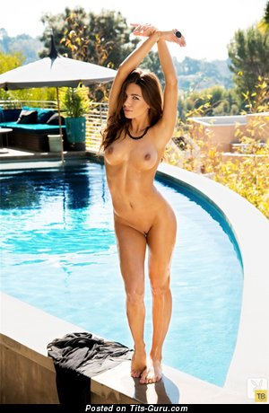 Image. Jessica Ashley - wonderful female with medium natural boobies image