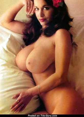 Joyce Gibson Aka Alexis Love. - Awesome Brunette Babe with Awesome Bare Natural Tit (Vintage Sexual Pix)