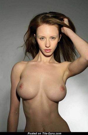Image. Naked wonderful woman with medium tits image