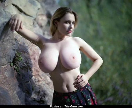 Image. Naked amazing female with huge tits pic