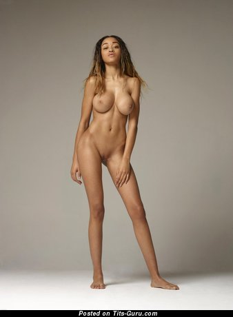 Image. Tyra - nude nice female with big breast pic