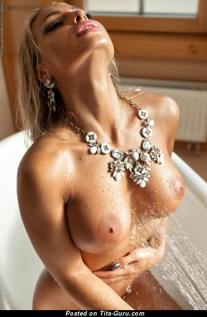 Maria - sexy naked blonde with medium tittys image