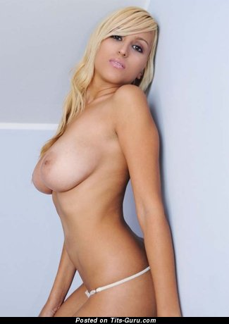 Image. Naked amazing girl with natural boobies photo