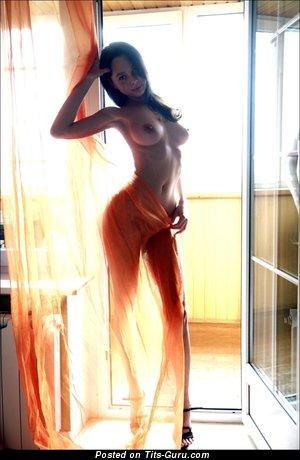 Image. Naked red hair with big breast pic