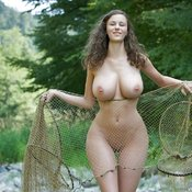 Beautiful female with big breast pic