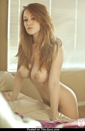 Image. Naked beautiful female with big natural boob pic