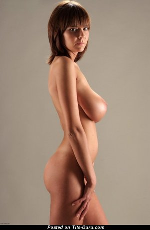 Image. Naked awesome lady with big natural tits picture
