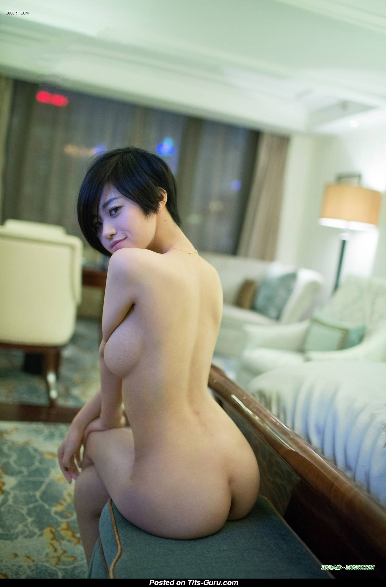 Lina - Asian Girl With Defenseless Sizable Tots Porn Foto -8865