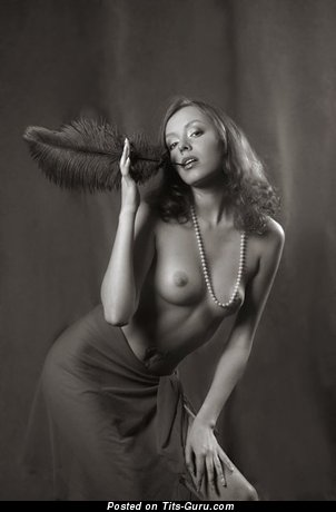 Image. Naked hot female with medium natural boob pic