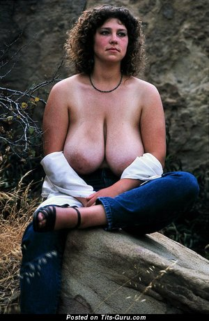 Image. Carol Tanner - naked hot woman with big natural breast vintage